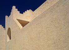 Byggnaden i den orientaliska stilen Royaltyfria Foton