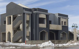 Byggnaden i Druzeby Royaltyfri Bild
