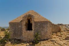 Byggnaden inom den Fortezza slotten Fotografering för Bildbyråer