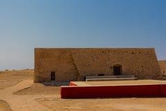 Byggnaden inom den Fortezza slotten Royaltyfri Fotografi