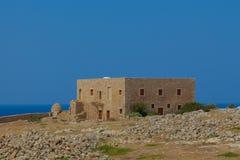 Byggnaden inom den Fortezza slotten Royaltyfria Bilder