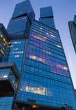 Byggnader av den moderna affärsmitten Royaltyfria Bilder