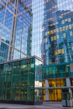 Byggnader av den moderna affärsmitten Royaltyfria Foton