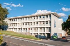 Byggnader av den Windhoek högstadiet Fotografering för Bildbyråer