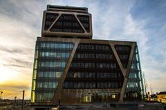 Byggnader av Hasselt, Belgien Fotografering för Bildbyråer