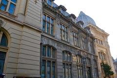 Byggnader av historia Arkivfoton