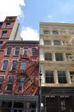 Byggnader av NYC arkivfoton