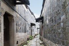 Byggnader av qing dynasti fotografering för bildbyråer
