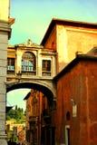 Byggnader av Rome Arkivfoto