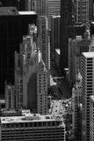 byggnader chicago Arkivfoton