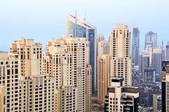 byggnader cluster bostads Fotografering för Bildbyråer