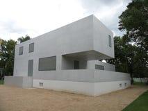 Byggnader 2014 för Dessau TysklandBauhaus Royaltyfria Bilder
