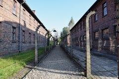 Byggnader för röd tegelsten har mycket att berätta Royaltyfria Bilder