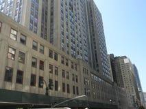 Byggnader för väldetillstånd, framtill NYC Arkivfoto