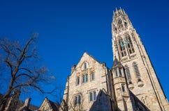 Byggnader för Yale universitet Royaltyfria Foton