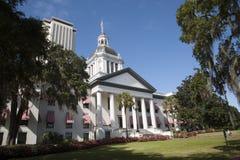 Byggnader Florida USA för Tallahassee Florida statKapitolium Royaltyfria Bilder