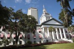 Byggnader Florida USA för Tallahassee statKapitolium Arkivfoto