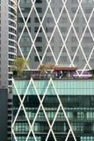 Byggnader från avstånd royaltyfri bild