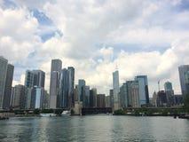 Byggnader från den Chicago staden Royaltyfri Fotografi