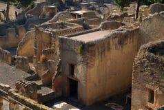byggnader herculaneum Royaltyfri Bild