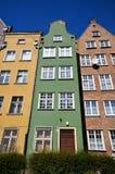 byggnader historiska gdansk Royaltyfria Bilder