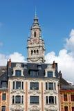 byggnader historiska lille royaltyfri fotografi