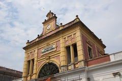 byggnader historiska manaus Arkivfoto