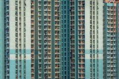 byggnader Hong Kong royaltyfria foton