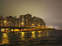 byggnader Hong Kong Royaltyfria Bilder