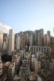 byggnader Hong Kong Arkivfoto