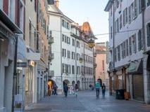Byggnader i Annecy, Frankrike Fotografering för Bildbyråer