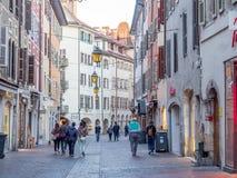 Byggnader i Annecy, Frankrike Royaltyfri Bild