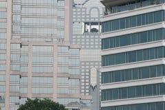 Byggnader i Bangkok, Thailand. Arkivbilder