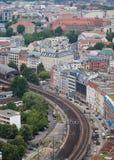 Byggnader i Berlin Arkivbild