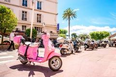 Byggnader i Cannes Fotografering för Bildbyråer