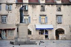 Byggnader i centret av splittring, Kroatien Royaltyfri Fotografi