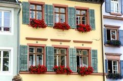Byggnader i Freiburg Royaltyfri Bild
