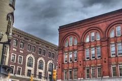 Byggnader i Grand Rapids Royaltyfri Fotografi