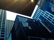 Byggnader i HK Royaltyfri Fotografi
