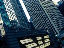 Byggnader i HK Royaltyfri Bild
