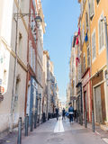 Byggnader i Marseille Royaltyfri Fotografi