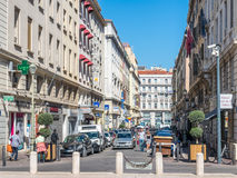 Byggnader i Marseille Royaltyfri Foto