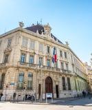 Byggnader i Marseille Royaltyfria Bilder