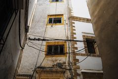 Byggnader i medina Royaltyfria Bilder