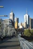 Byggnader i Melbourne Royaltyfria Foton