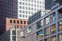Byggnader i mitten av Haag Arkivfoton