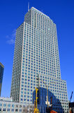 Byggnader i Montreals internationella område Royaltyfri Bild