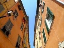 Byggnader i Nice, Frankrike Royaltyfri Bild