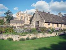 Byggnader i Oxford Arkivbild
