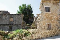 Byggnader i Pican Arkivbilder